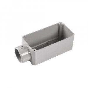 Condulete fixo em alumínio tipo E