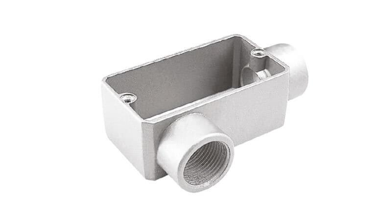 Condulete fixo em alumínio tipo LR