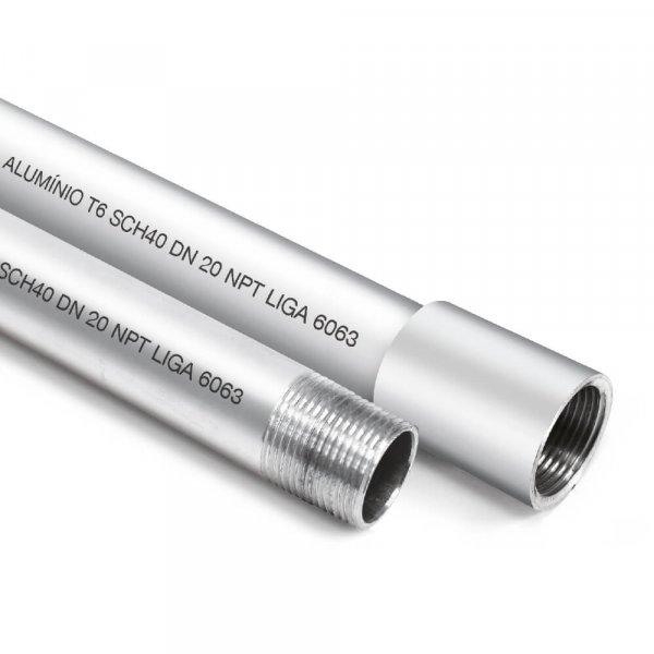 eletroduto alumínio